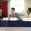 Silvia Mantovan, responsabile Zenzero Lab, presenta Matteo Preite, vincitore del Premio di Studio Zenzero Lab