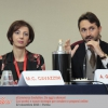 Maria Cristina Cavazzini, Web Project Manager Zenzero Comunicazione, e Andrea Gavazzoli, giornalista professionista