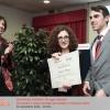 Web Show 2013: la consegna della pergamena al vincitore del Premio di Studio Zenzero lab