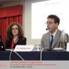Silvia Mantovan (responsabile Zenzero Lab) e Filippo Casaccio (Vice Direttore Consorzio del Formaggio Parmigiano-Reggiano)