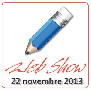 aperte le iscrizioni al Web Show!